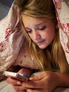 Smartphones Compromise Teens' Sleep